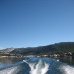 Boating on Lower Bear River Reservoir