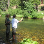 Fly Fishing on the Silver Fork of the American River