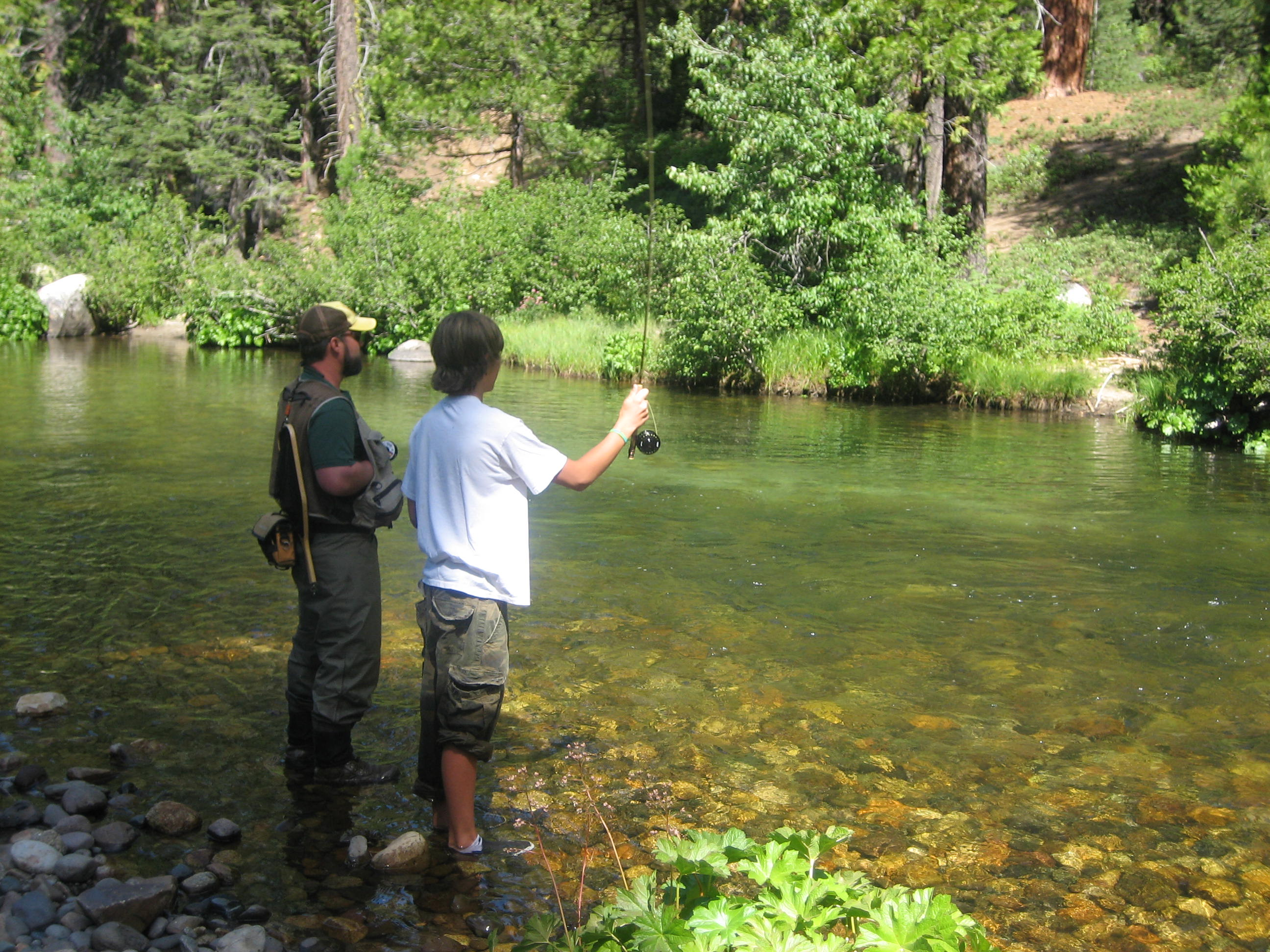 Mountain counties water resources association mountain for Lower salt river fishing