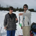 Ice Fishing at Loon Lake